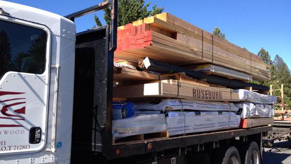 framing material caseywood corporation lumber yard